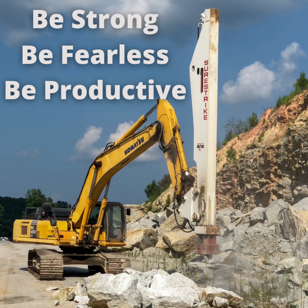 Be Strong Be Fearless Be Productive